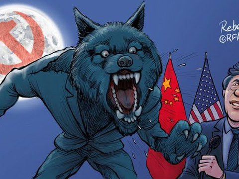 变态辣椒:中国战狼满世界咆啸 重回文革变国际孤狼?