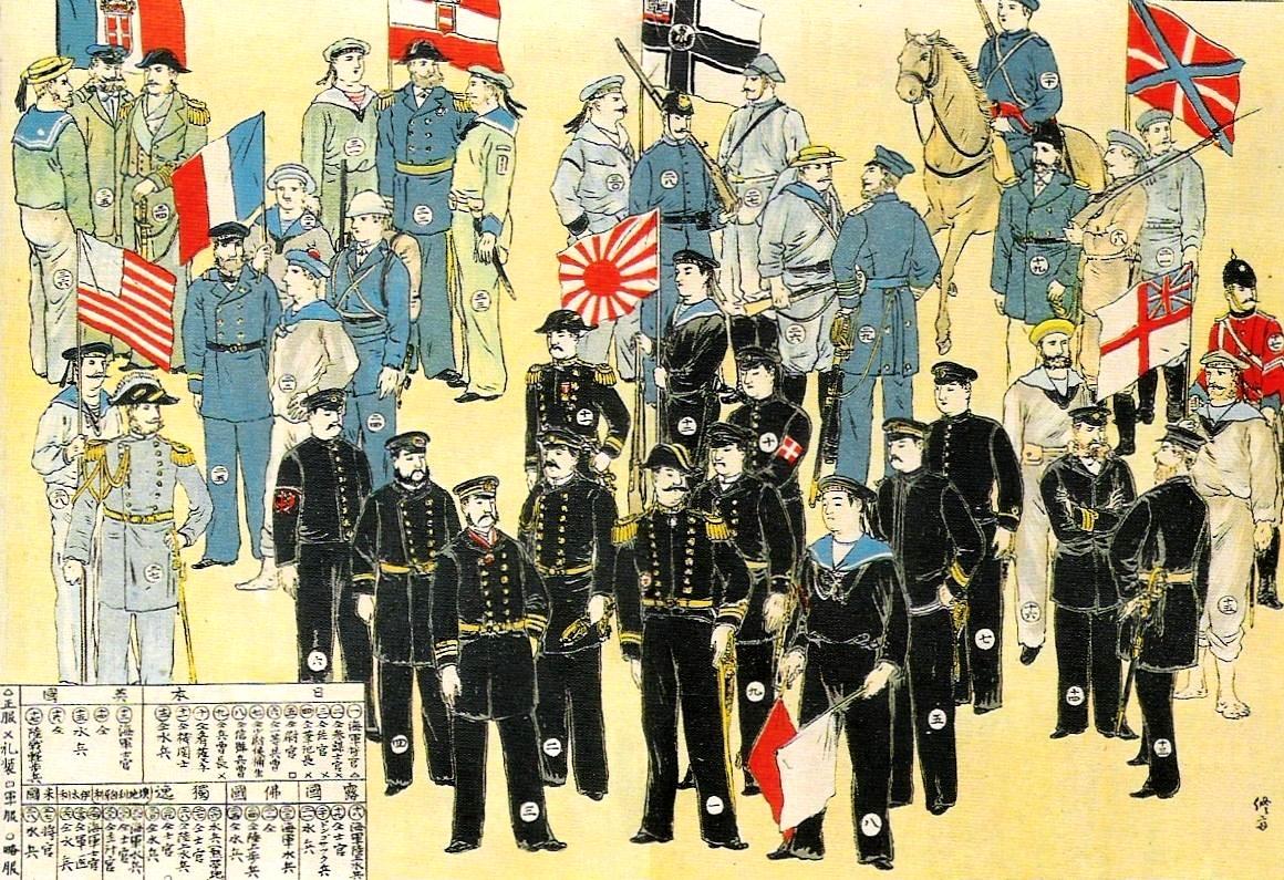 八国联军。(维基百科)