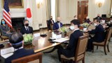 2021年4月16日,美國總統拜登與日本首相菅義偉在白宮舉行首腦會議。