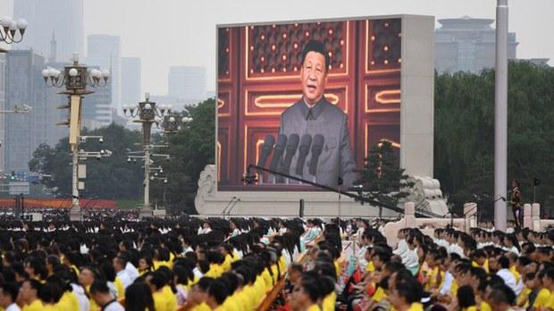 习在百年党庆上的演讲及其法西斯式的森严庆典不仅未能使其摆脱被围堵和孤立的国际态势,反而加强了世界舆论对其凶残与愚蠢的定见。(AFP)