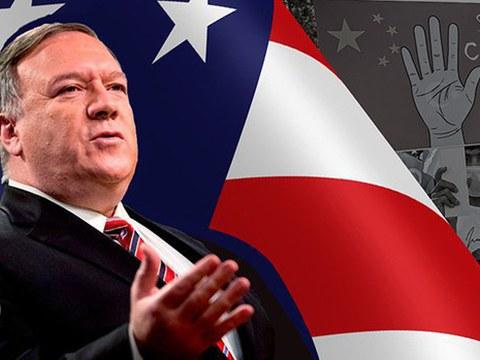 美国国务卿蓬佩奥1月9日发表声明,宣布解除台美交往限制。