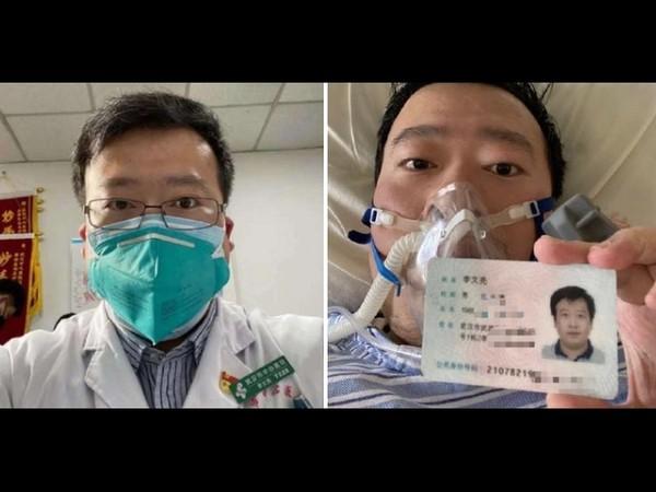 曾被训诫的武汉市中心医院眼科医生李文亮于2月6日晚抢救无效去世。2月1日,李文亮确诊新型冠状病毒肺炎。(Public Domain)