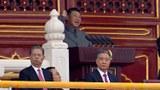 2021 年 7 月 1 日,習近平在北京天安門舉行慶祝中國共產黨成立 100 週年的儀式上發表講話。