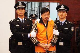 图片:2010年4月8日,法院一审认定郑民生故意杀人罪成立,依法判处死刑。(人民网图)