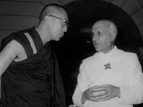 ༧གོང་ས་མཆོག་དང་རྒྱ་གར་གྱི་སྲིད་བློན་ནེ་རོ་(Nehru) 1961