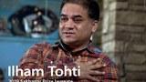 རྒྱ་ནག་གཞུང་གི་བཙོན་ཁང་ནང་ཚེ་བཙོན་འོག་ཡོད་པའི་ཡུ་གུར་བ་སྐུ་ཞབས་ཨིལ་ཧིམ་ཐོ་ཧི་ཊིས་(Ilham Tohti)་ལགས།
