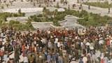 ༡༩༨༧ ཟླ་ ༩ ཚེས་ ༢༧ ཉིན་བོད་ཀྱི་རྒྱལ་ས་ལྷ་སར་རྒྱ་ནག་དམར་ཤོག་གིས་དབང་སྒྱུར་དང་སྡུག་རྩུབ་ཀྱི་སྲིད་བྱུས་ལ་ངོ་རྒོལ་གྱི་ལས་འགུལ་སྤེལ་བ།