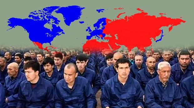 Gherbning ketmini Uyghur, sherqning dertmini Uyghur