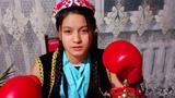 2005-2006-Yilliri tughulghan ösmürler boyiche ötküzülgen boks musabiqiside qazaqistan chémpiyoni bolghan elenur turghanowa. 2021-Yili féwral, almuta.