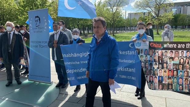 Gérmaniye parlaméntida Uyghur rayonidiki