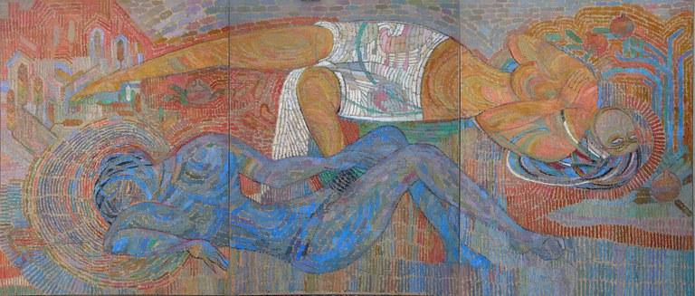 Gheyret ibrahimofning 'Khotenning ashiqliri' eseri 2010-yil.jpg