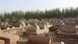 Uyghur diyaridiki melum qebristanliq.