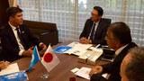 Yaponiye Parlamentidiki Yapon-Uyghur Dostluq Guruppisining bashliqi Furuya Keiji bilen