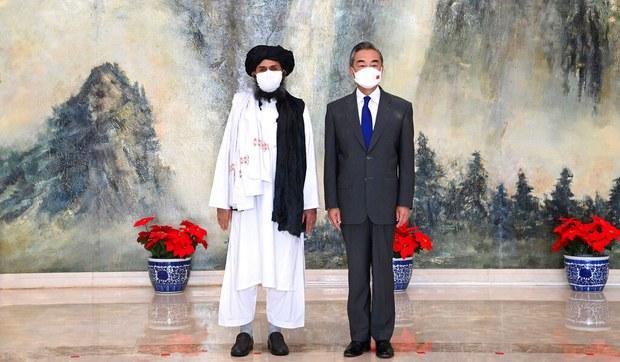 Taliban hey'iti xitayni ziyaret qildi