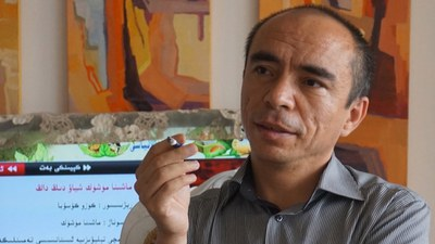 Tonulghan Uyghur yazghuchi, sha'ir we doktor perhat tursun.