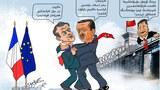 Erdoghanning ikki yüzi: xitayning aldida müshük, firansiyening aldida yolwas.