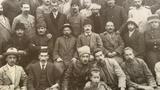 20-Esirning bashliridiki türkistan jeditchiliri we türkistandiki usuli jedit mekteplirining bir qisim oqutquchiliri.