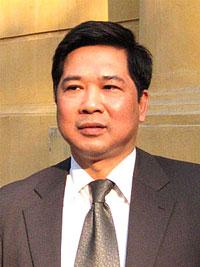 Tiến sĩ luật Cù Huy Hà Vũ, ảnh chụp trước đây. RFA File Photo.
