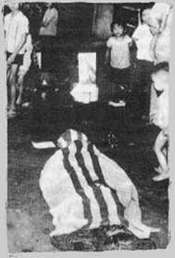 Thiếu tá Đặng Sỹ Vinh BTL CSQG ngày 30/4/1975 đã tự sát cùng vợ và 7 con.