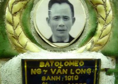 Di ảnh Trung Tá Cảnh Sát Việt Nam Cộng Hòa Nguyễn Văn Long Tuẩn Tiết ngày 30 4 1975
