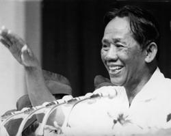 Ông Lê Duẩn chụp vào ngày 15/5/1975. AFP photo