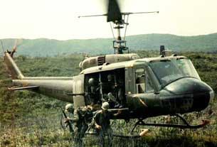 Trực thăng Huey trong chiến tranh Việt Nam.
