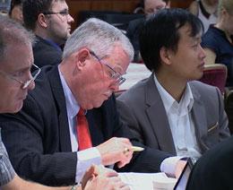 GS Carl Thayer thuộc Học viện Quốc phòng Australia. RFA