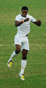 Cầu thủ nổi bật của hội tuyển Ghana Anthony Annan. Courtesy Wikipedia