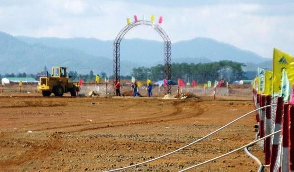 Hình minh họa. Dự án Bauxite ở Lâm Đồng hôm 13/4/2009