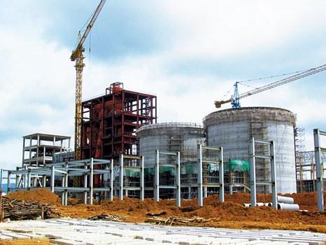 Nhà máy Alumin Tân Rai.