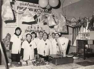 Một cửa hàng kiểu mẫu ở Hà Nội trong thời bao cấp.