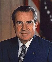 Tổng thống Nixon tại toà Bạch Ốc- U.S. National Archives photo