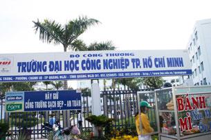 Trường đại học Công Nghiệp TP.HCM ở Tỉnh Quảng Ngãi. RFA
