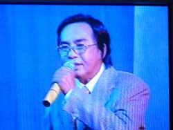Nghệ sĩ Thanh Tuấn. Hình của Soạn giả Nguyễn Phương