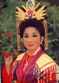 Nữ nghệ sĩ Thanh Thanh Hoa. Hình của Soạn giả Nguyễn Phương