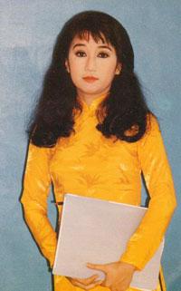 Nữ nghệ sĩ Thanh Thanh Tâm. Hình của Soạn giả Nguyễn Phương