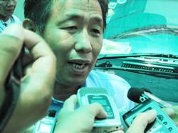 Luật sư của Chính phủ Hoàng gia Campuchia. RFA photo/Quốc Việt