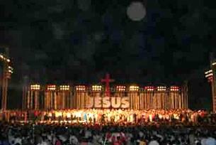 Hơn 40 ngàn tín hữu Tin Lành tụ họp đón mừng lễ giáng sinh năm 2009 tại TP.HCM