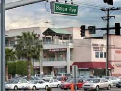 Đường Bolsa, California. Photo courtesy of vietinpdx.