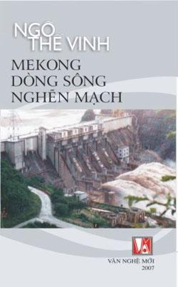 Hình bìa cuốn Mê Kông Dòng Sông Nghẽn Mạch. Source: Văn Nghệ Mới