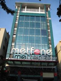 Công ty Metfone tại thủ đô Phnom Penh. Photo by Quốc Việt/RFA.