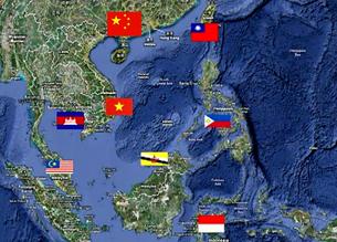 Các quốc gia đang có chủ quyền trên vùng Biển Đông. Screen cap/us-china-institude