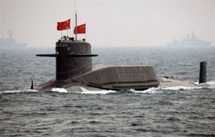 Tàu ngầm xử dụng năng lượng hạt nhân của TQ được đưa ra lần đầu nhân dịp kỷ nịêm 60 năm thành lập nước CHND.Trung Quốc