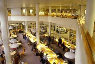 Thư viện đại học Stockholm ở Thụy Điển (ảnh minh họa)