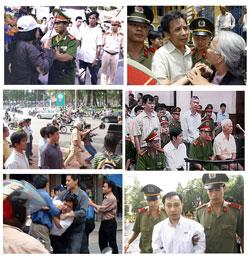 Tự ngôn luận ở đâu khi nhà báo đưa tin cũng bị bắt