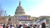 Khán đài nơi TT. Barack Obama tuyên thệ nhậm chức