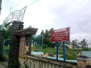 Nghĩa trang Cồn Dầu