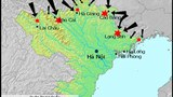 Bản đồ ghi hướng tấn công của Trung Quốc vào Việt Nam năm 1979