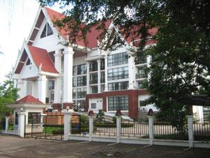 Ủy hội sông Mekong, trụ sở ở Vientiane Lào