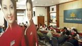 Phòng bán vé máy bay của Vietnam Airlines ở Hà Nội